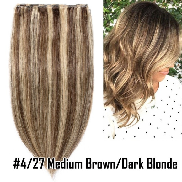 Accessories 1 Piece Clip In Remy Quality Hair Extensions 26 Poshmark